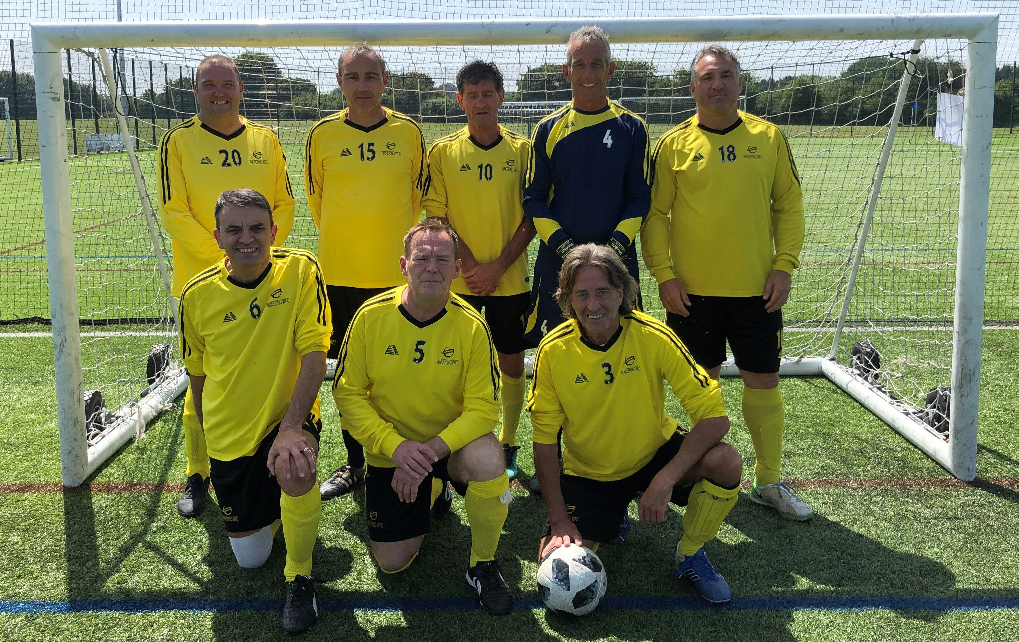 Wakering WFC over 50's